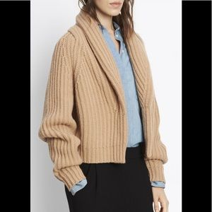Vince cropped cardigan sweater size small
